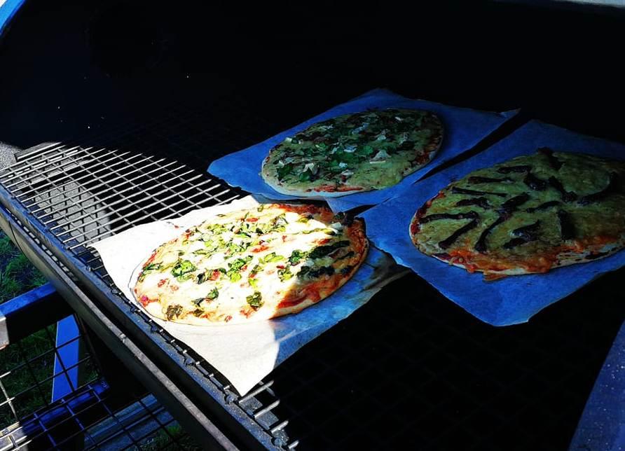Smoked Pizzas: Sunday's on Lovelock Street Whakatane form 11am to 3pm.
